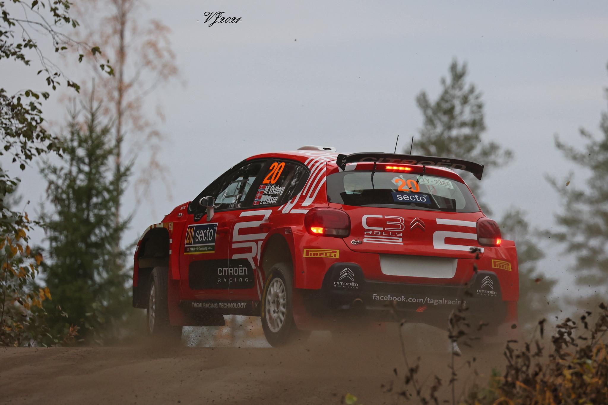 Mads Ostberg, Citroen C3 R5