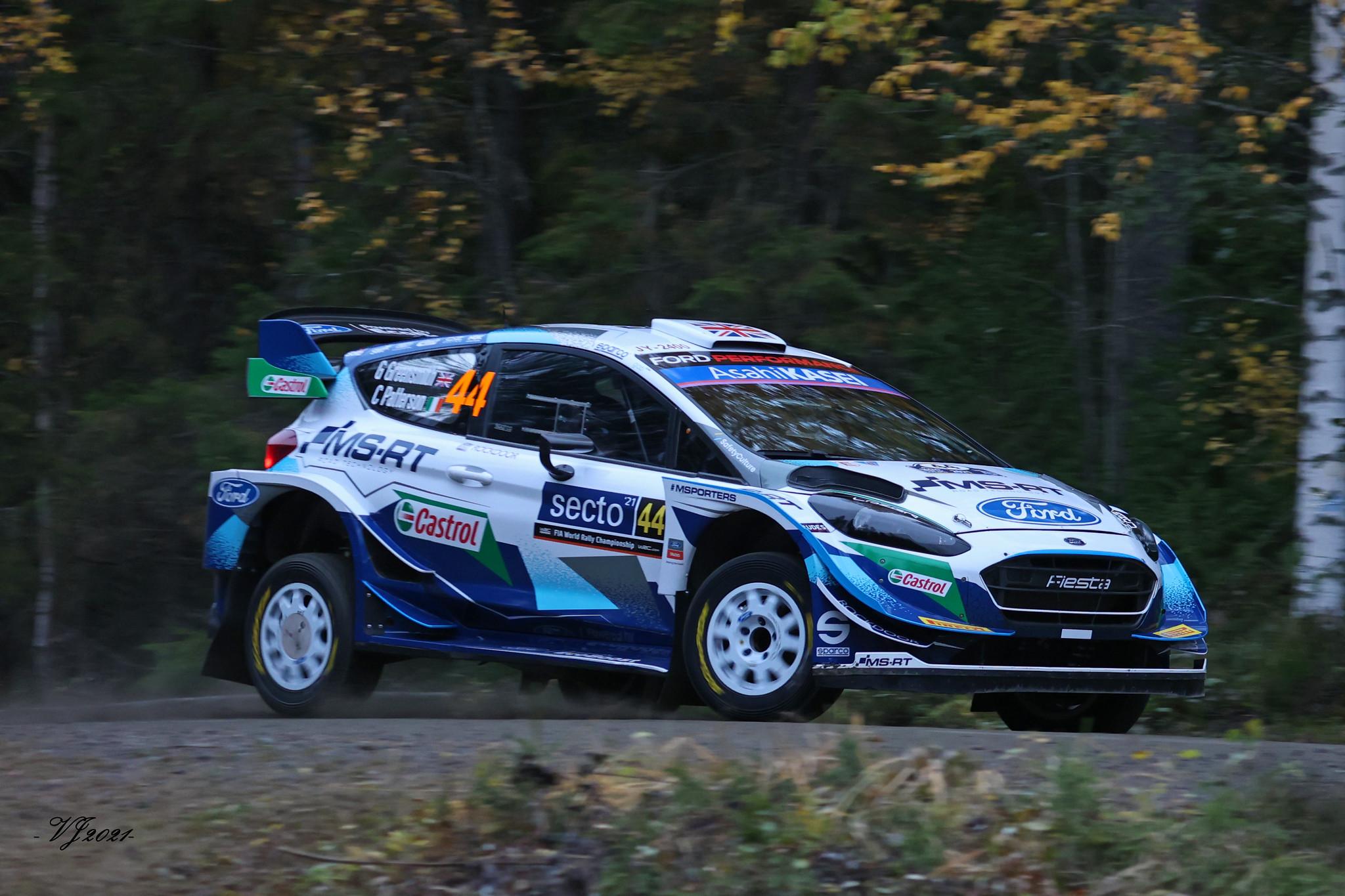 Gus Greensmith, Ford Fiesta WRC