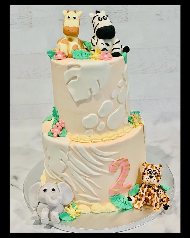 Cake by Messy Bun Bakery