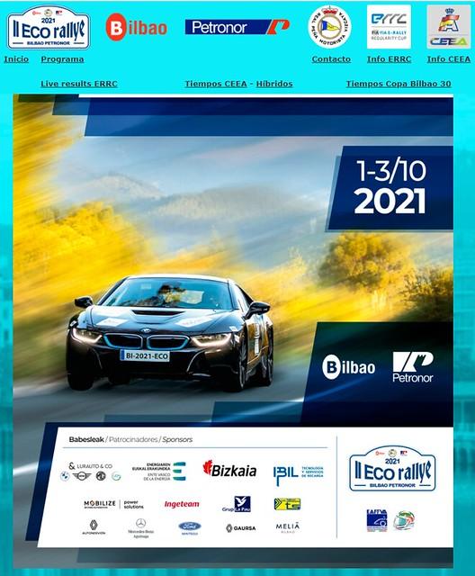 II ECO Rallye Bilbao Petronor