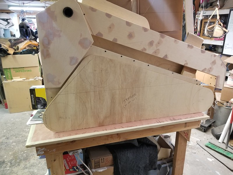 Lift Arm Filling and Sanding