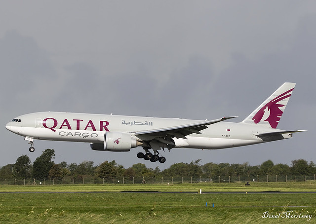 Qatar Cargo 777-F A7-BFC