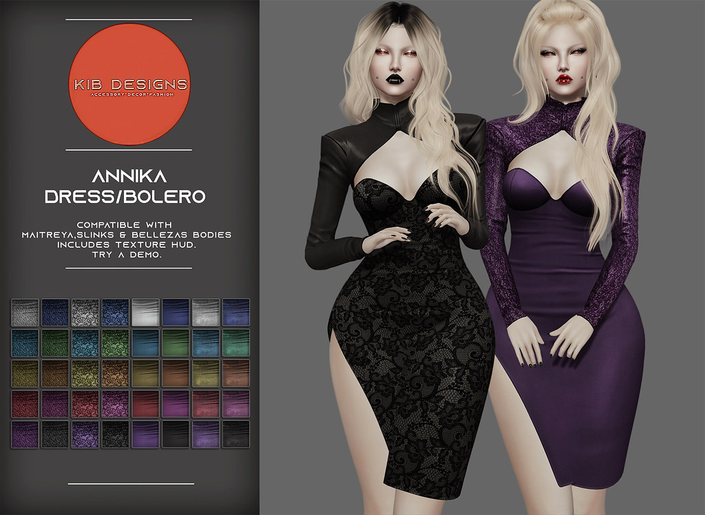 KiB Designs – Annika Dress & Bolero @Designer Showcase
