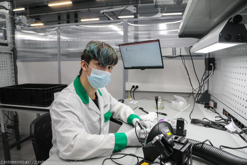 Какой он новый завод «Макро ЕМС» по производству электронных модулей 999A8666