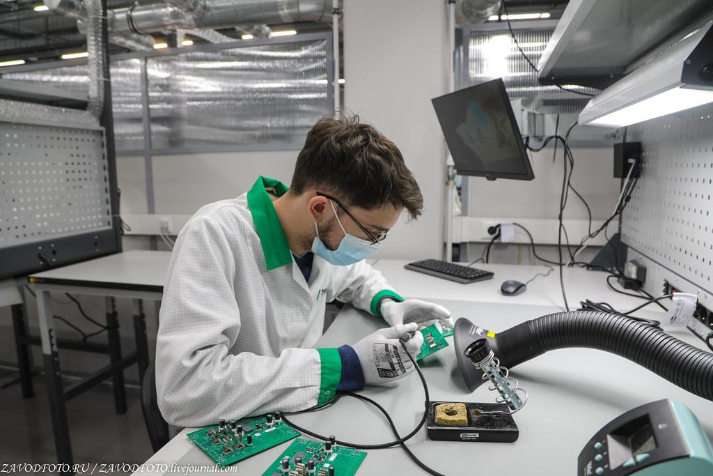 Какой он новый завод «Макро ЕМС» по производству электронных модулей 999A8592