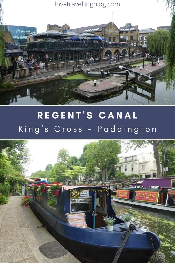 Regent's Canal, King's Cross - Paddington, London