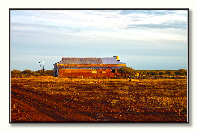 Aandoned Shearing Shed, Yundramindra Road, Laverton, Western Australia