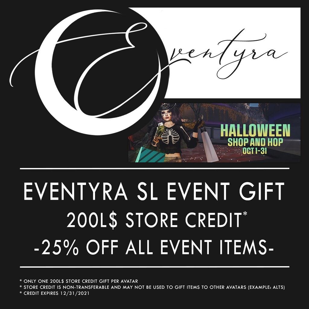 Eventyra – SL Halloween Shop & Hop 2021 Deals Poster