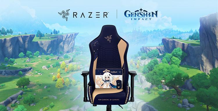 Genshin Impact with Razer