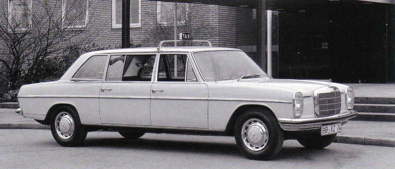 Mercedes Benz 240D (W114) – 1972