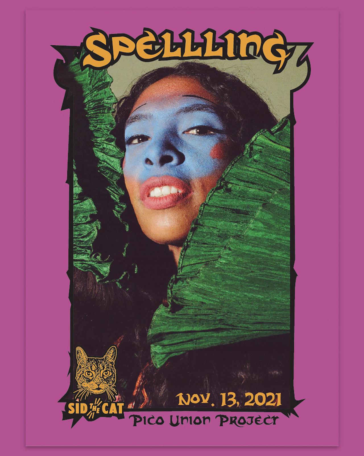 Spellling Trading Card 1