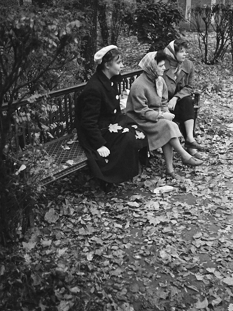 1961. Ленинград. Поэты