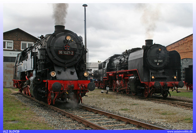 95 1027-2 DB Museum / HSB and 50 3501 DLW Meiningen