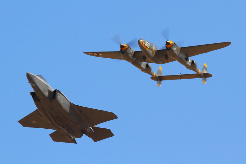 IMG_3169 P-38 Lightning and F-35 Lightning II