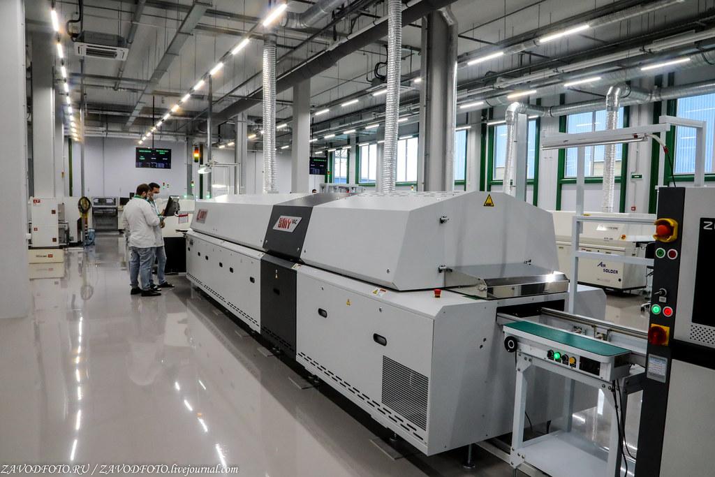 Какой он новый завод «Макро ЕМС» по производству электронных модулей 999A9050