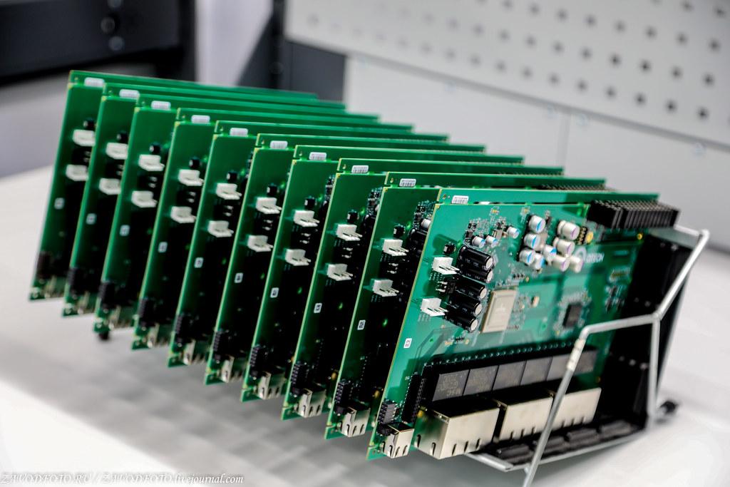 Какой он новый завод «Макро ЕМС» по производству электронных модулей 999A8928