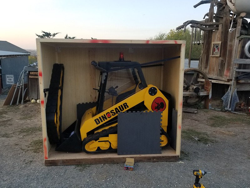Complete Loader Packed for Shipping