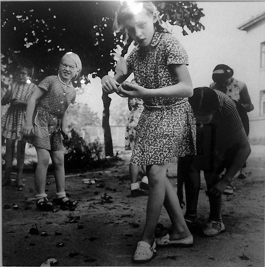 1962. Школа для слепых детей. Каштаны. Каунас (2)