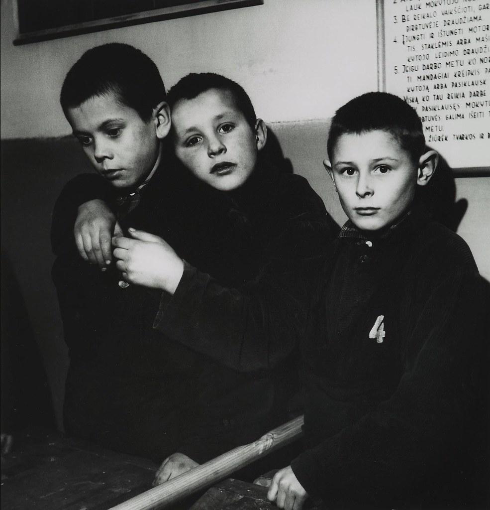 1962. Школа для слепых детей. Каунас
