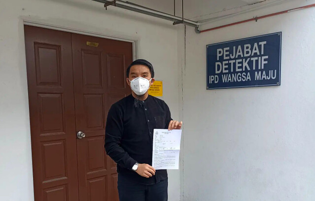 Firdaus Wong Lapor Polis Difitnah Sebar Gambar Video Lucah Melalui Telegram