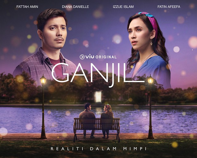 Fattah Amin &Amp; Diana Danielle Bergabung Dalam Ganjil, Sebuah Kisah Cinta Fantasi Romantik