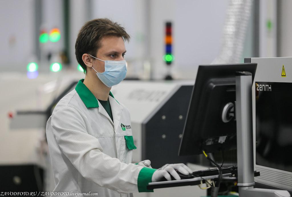 Какой он новый завод «Макро ЕМС» по производству электронных модулей IMG_1195