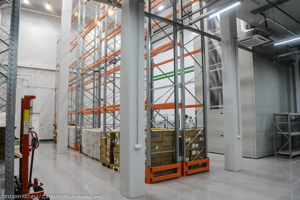 Какой он новый завод «Макро ЕМС» по производству электронных модулей 999A9202