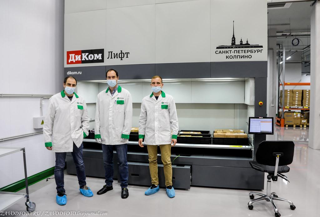 Какой он новый завод «Макро ЕМС» по производству электронных модулей 999A9191