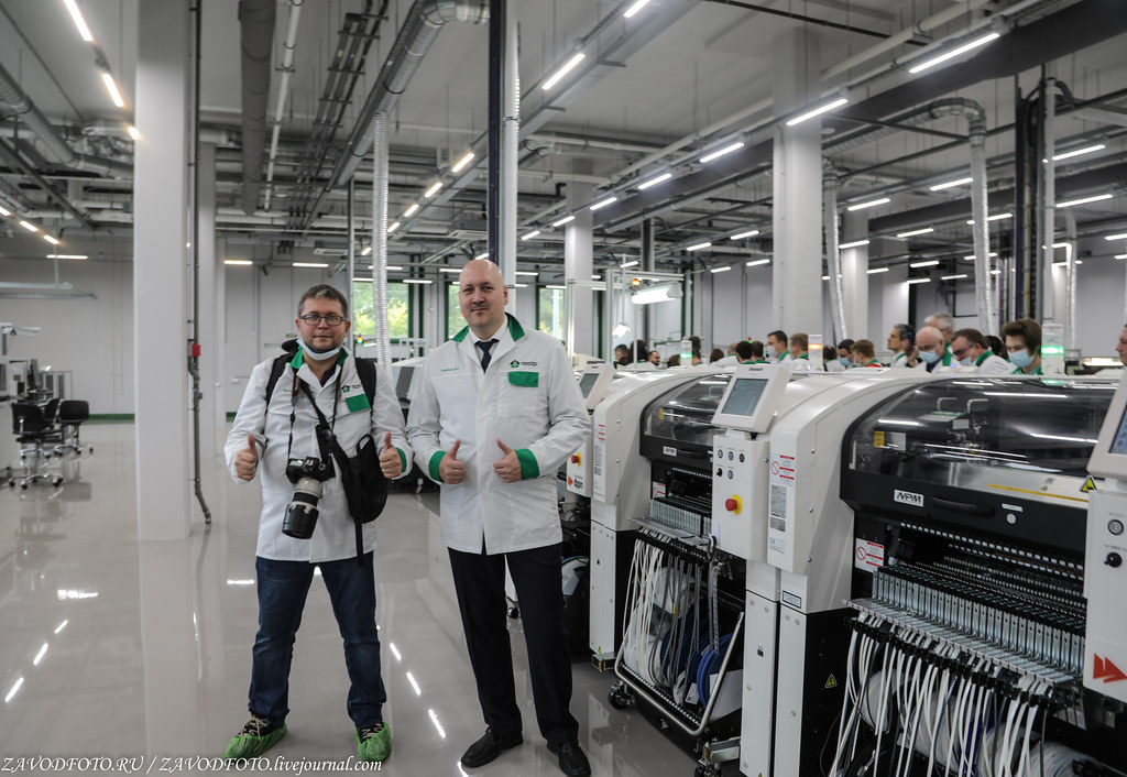 Какой он новый завод «Макро ЕМС» по производству электронных модулей 999A9149