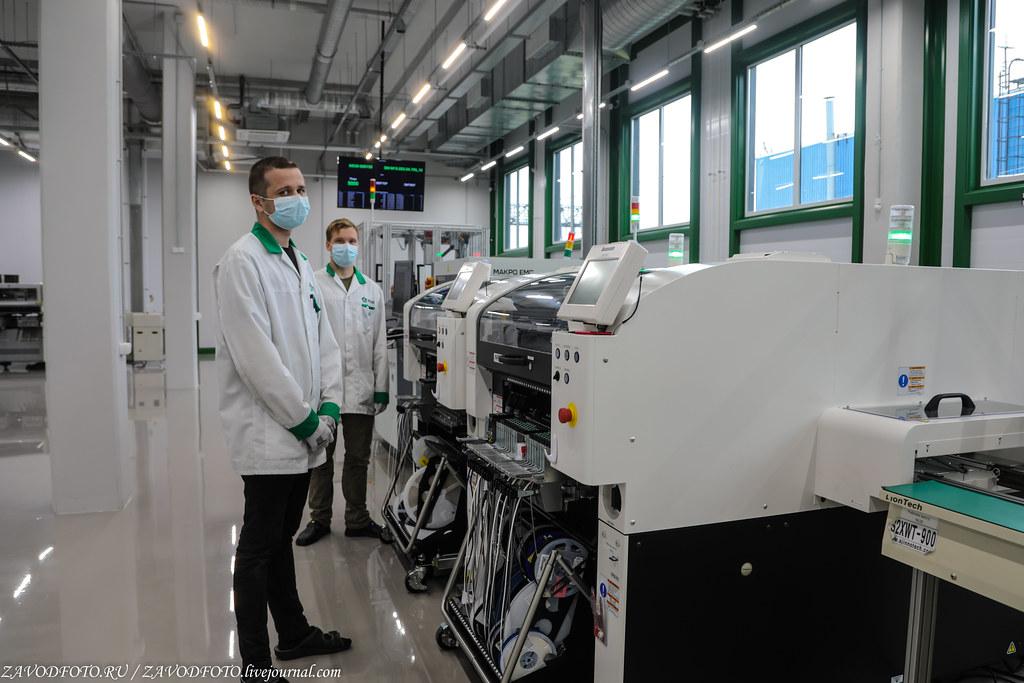 Какой он новый завод «Макро ЕМС» по производству электронных модулей 999A8795