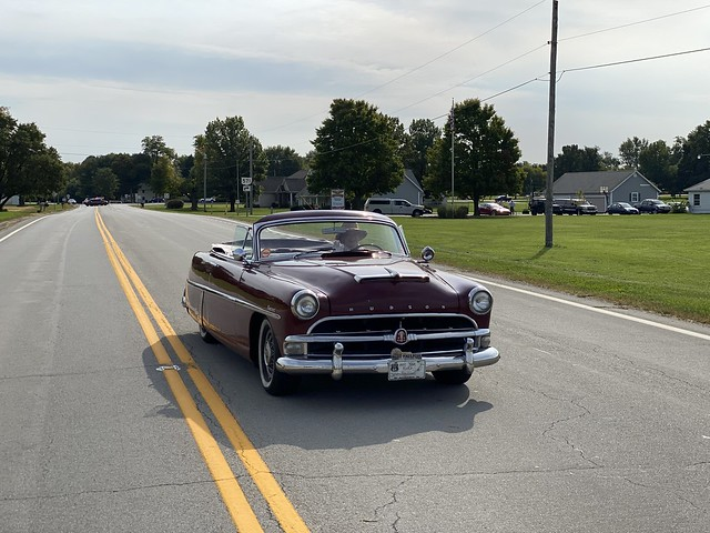 The Hudson Hornet in the 2021 Parade of Planes