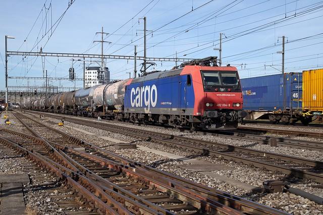 SBB Cargo 482 004 Pratteln