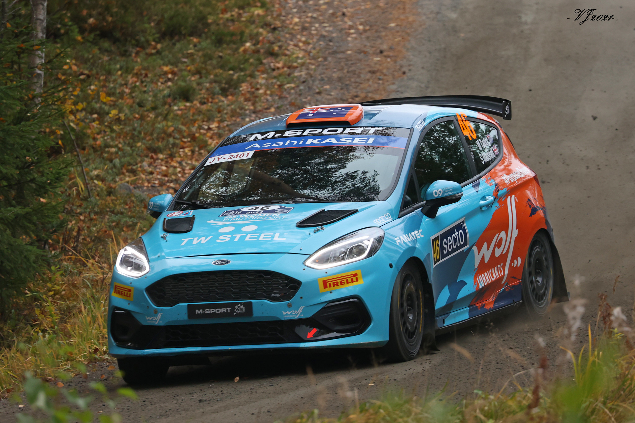 Molly Taylor, Ford Fiesta Rally3