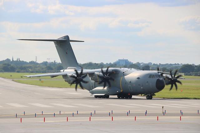 A400 Atlas (ZM411) @ RAF Northolt