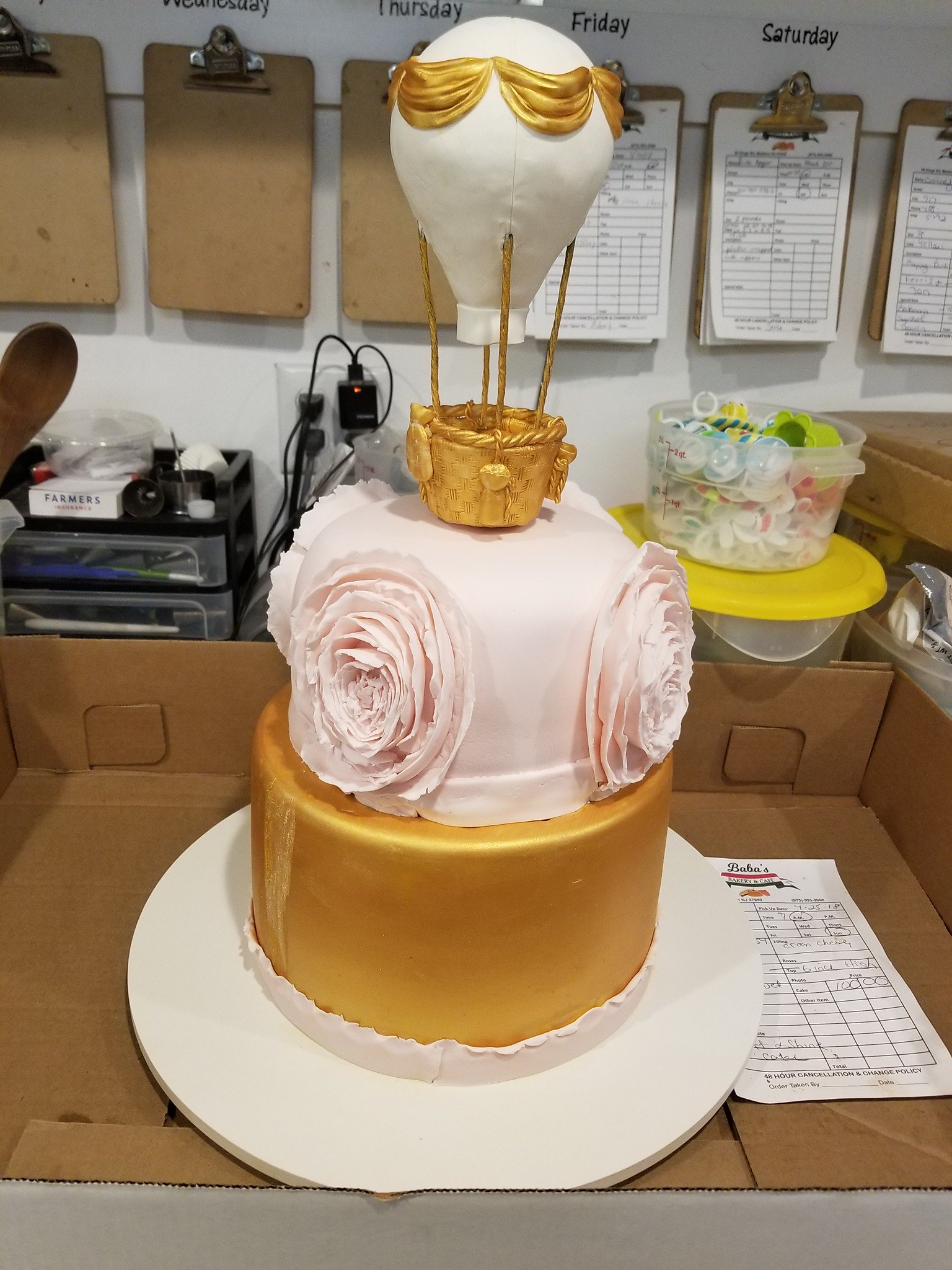 Cake by Baba's Bakery & Cafe