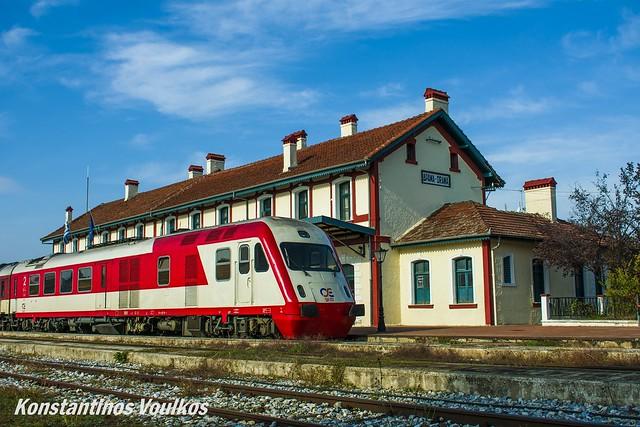 Glorious station, glorious train.