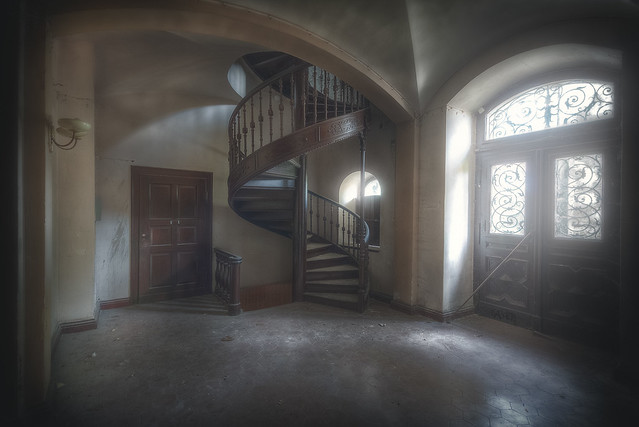 abandoned stair no. 108