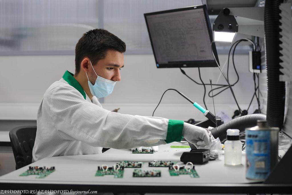 Какой он новый завод «Макро ЕМС» по производству электронных модулей IMG_1154