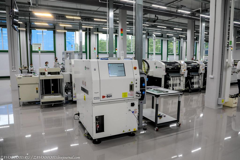 Какой он новый завод «Макро ЕМС» по производству электронных модулей 999A8856