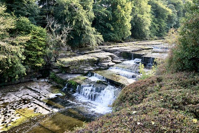 Aysgarth Falls, Leyburn, North Yorkshire, UK.