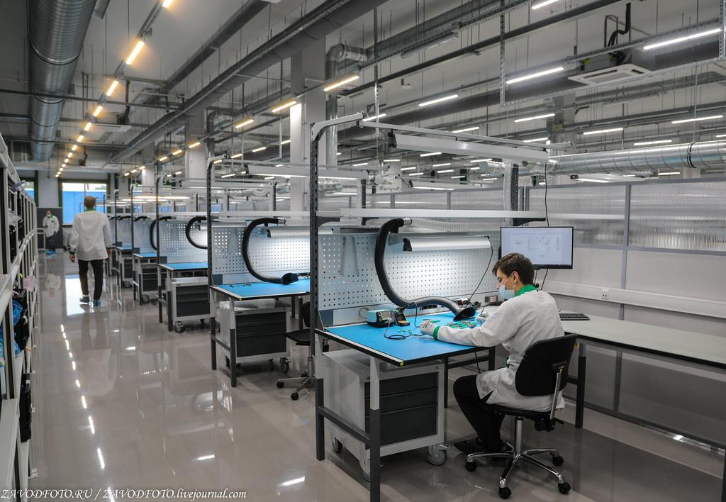 Какой он новый завод «Макро ЕМС» по производству электронных модулей 999A8736