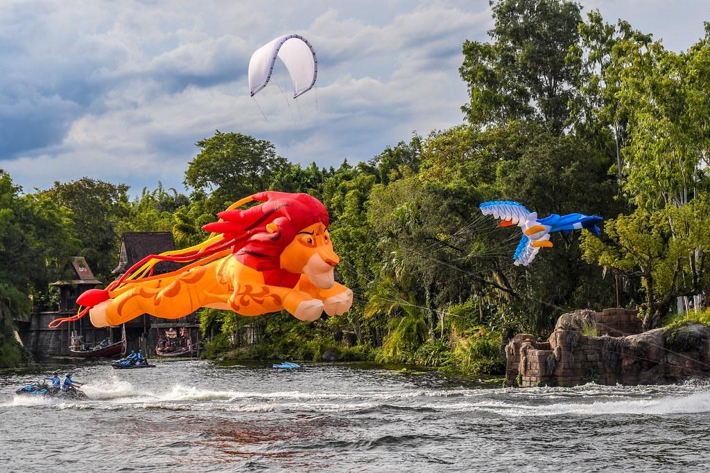 KiteTails Simba and Zazu
