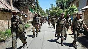 Indian forces launch CASO in Bandipora