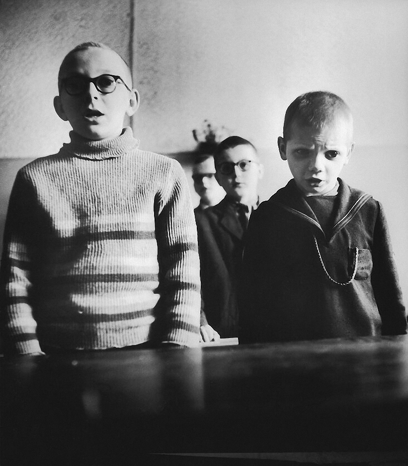 1962. Школа для слепых детей. Песня. Каунас
