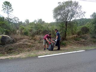Route de Taddu Russu : encore un beau spot d'ordures !