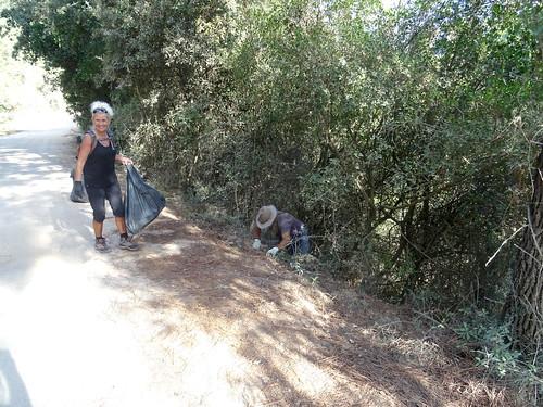 Piste du Cavu : certains poussent le nettoyage à l'extrême !