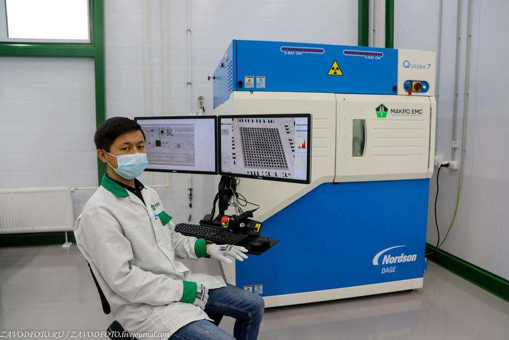 Какой он новый завод «Макро ЕМС» по производству электронных модулей 999A8914