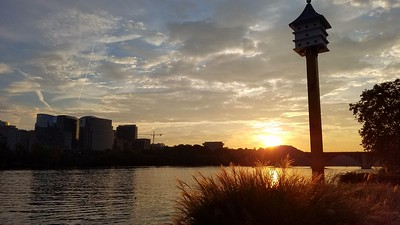 Georgetown Waterfront at Sunset