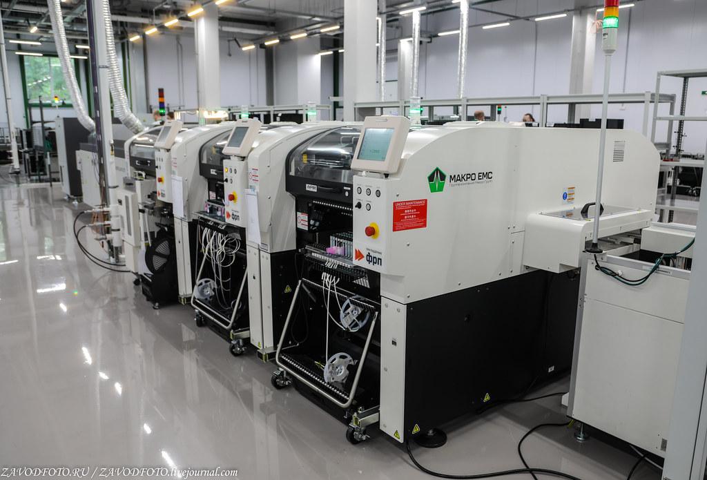 Какой он новый завод «Макро ЕМС» по производству электронных модулей 999A8991