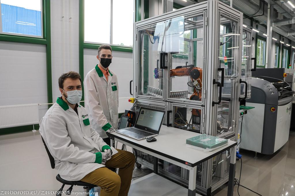 Какой он новый завод «Макро ЕМС» по производству электронных модулей 999A8770